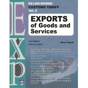 Arun Goyal's Big's Easy Reference on Customs Tariff 2018-19 Vol II : Exports of Goods and Services by Academy of Business Studies